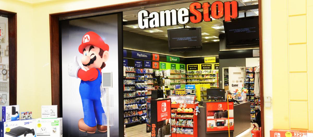 Gamestop centro commerciale i portalicentro commerciale for I portali negozi