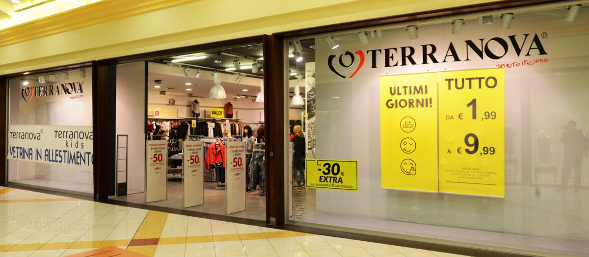 Terranova centro commerciale i portalicentro commerciale for I portali negozi