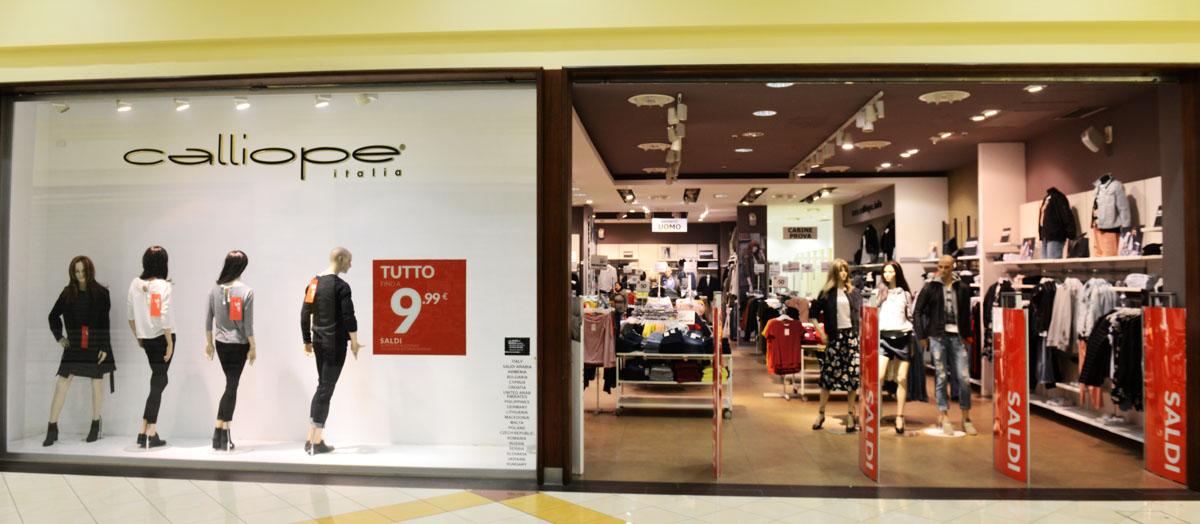 Calliope centro commerciale i portalicentro commerciale for I portali negozi
