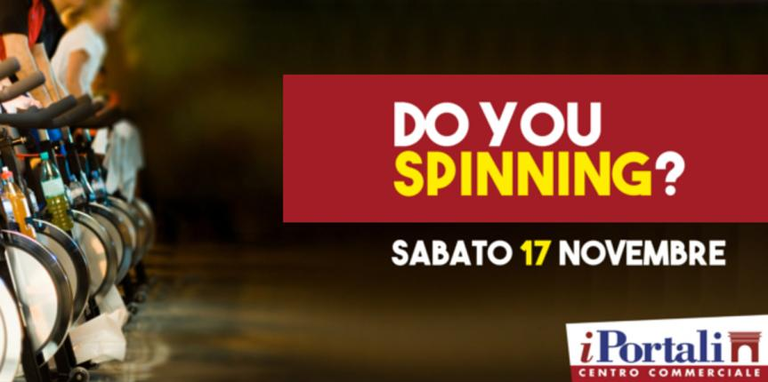 DO YOU SPINNING?